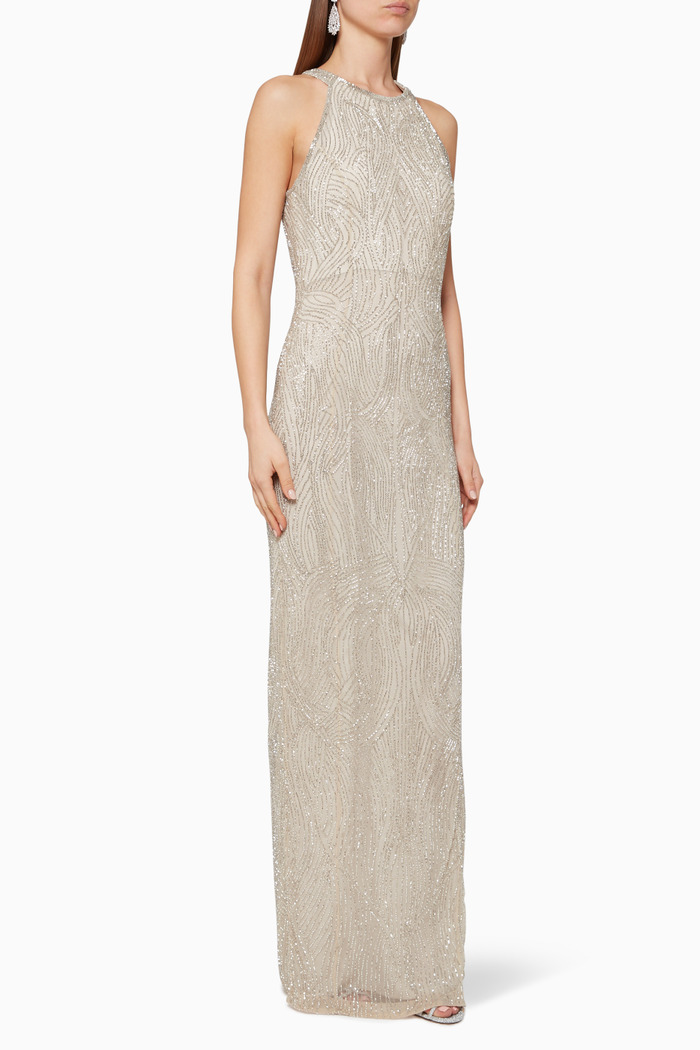 Carrie Beaded Gown