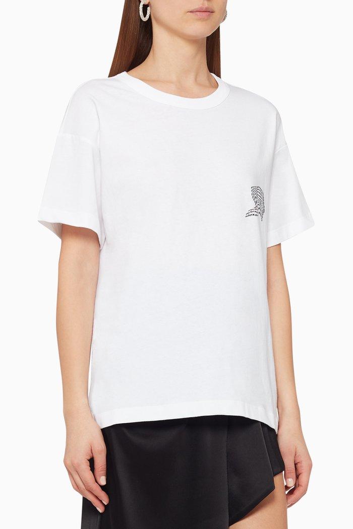 Warped Logo Jersey T-Shirt