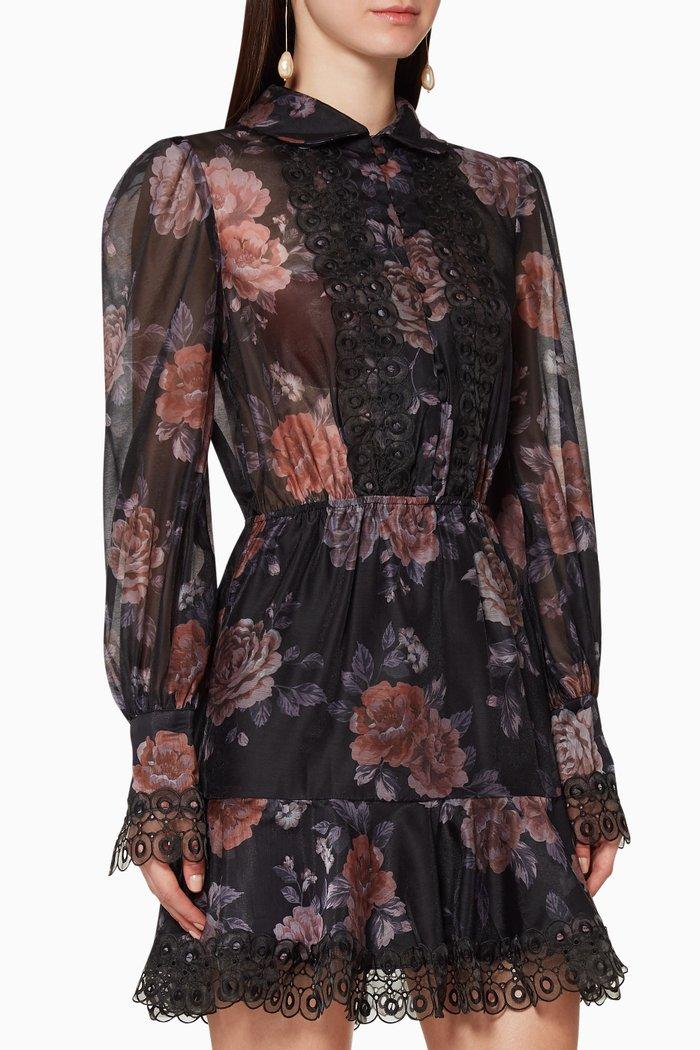 Atomic Floral Mini Dress