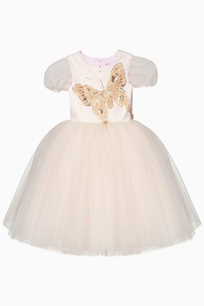 Gaura Butterfly Tulle Dress