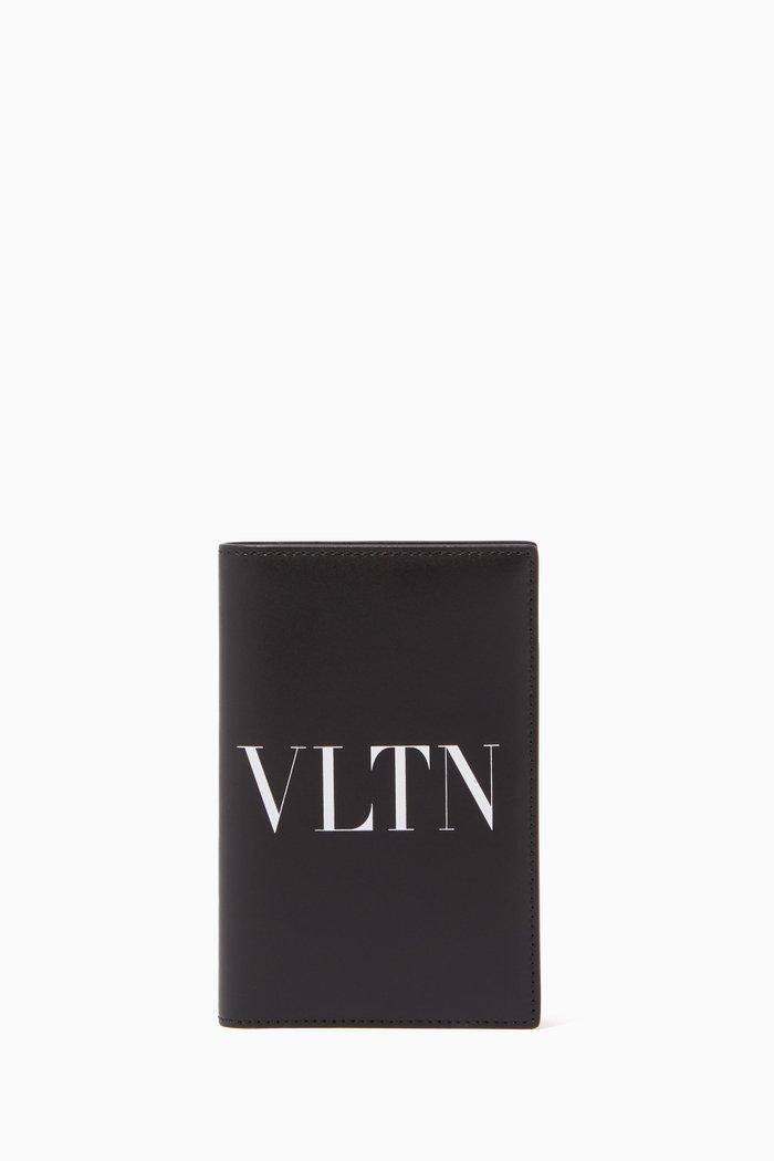 Valentino Garavani VLTN Bi-Fold Passport Cover