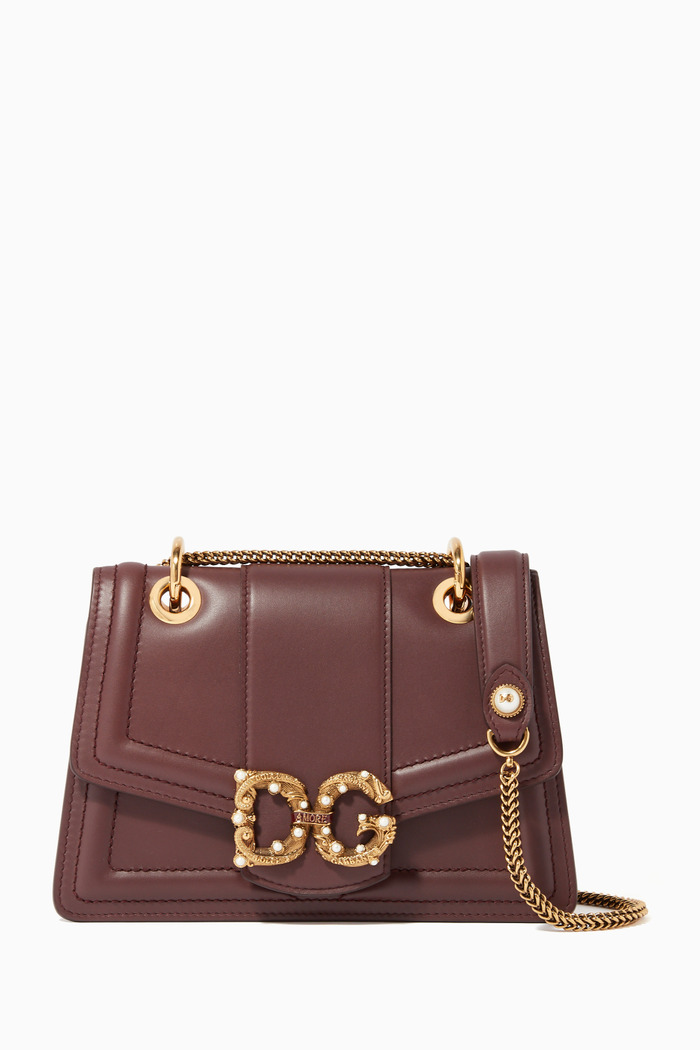 Small DG Amore Leather Bag