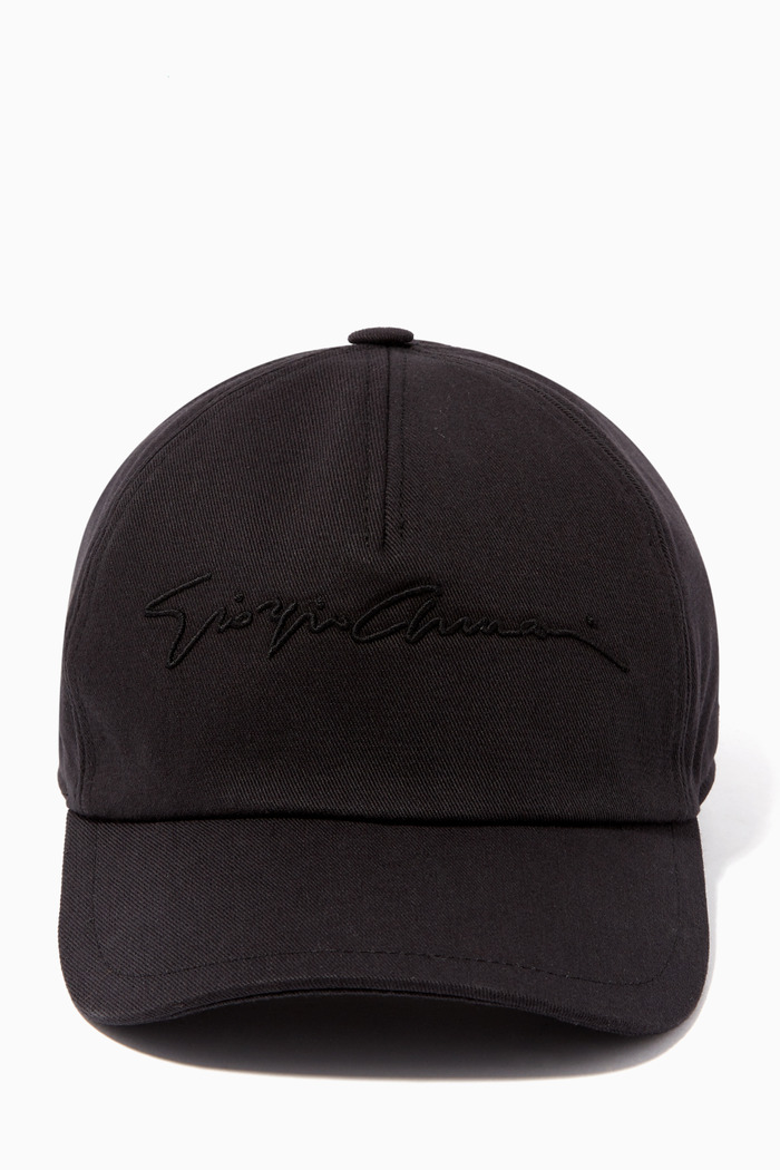 Signature Canvas Baseball Cap