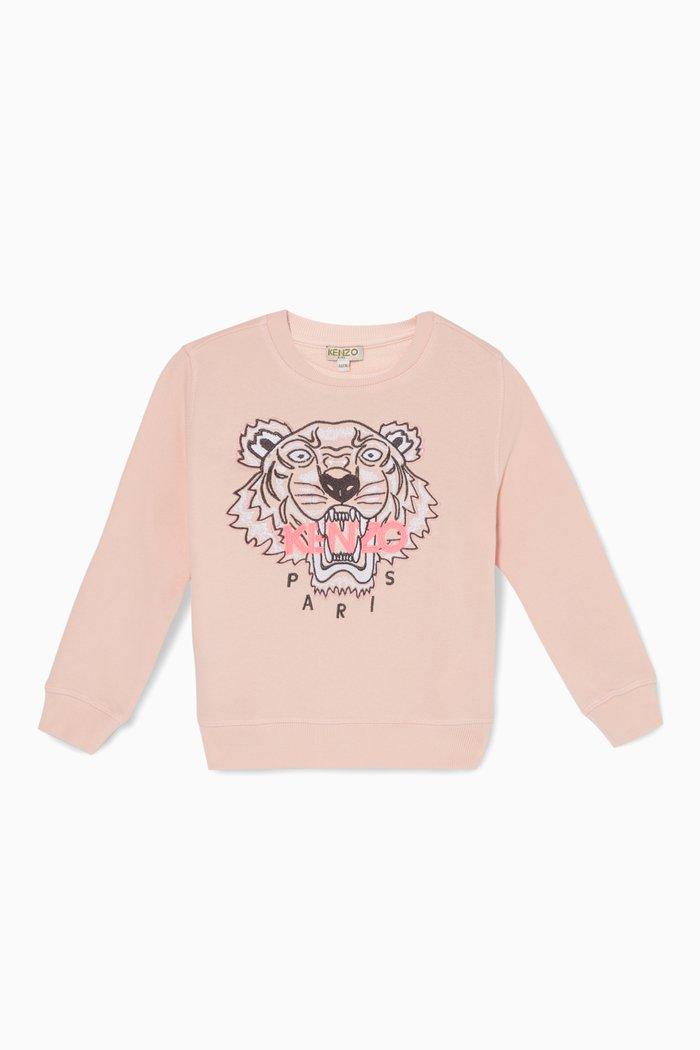 Tiger Jersey Sweatshirt