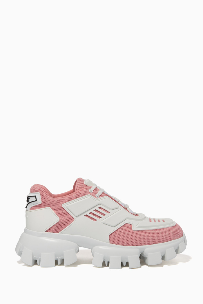 Tech Panelled Chunky Soled Sneakers