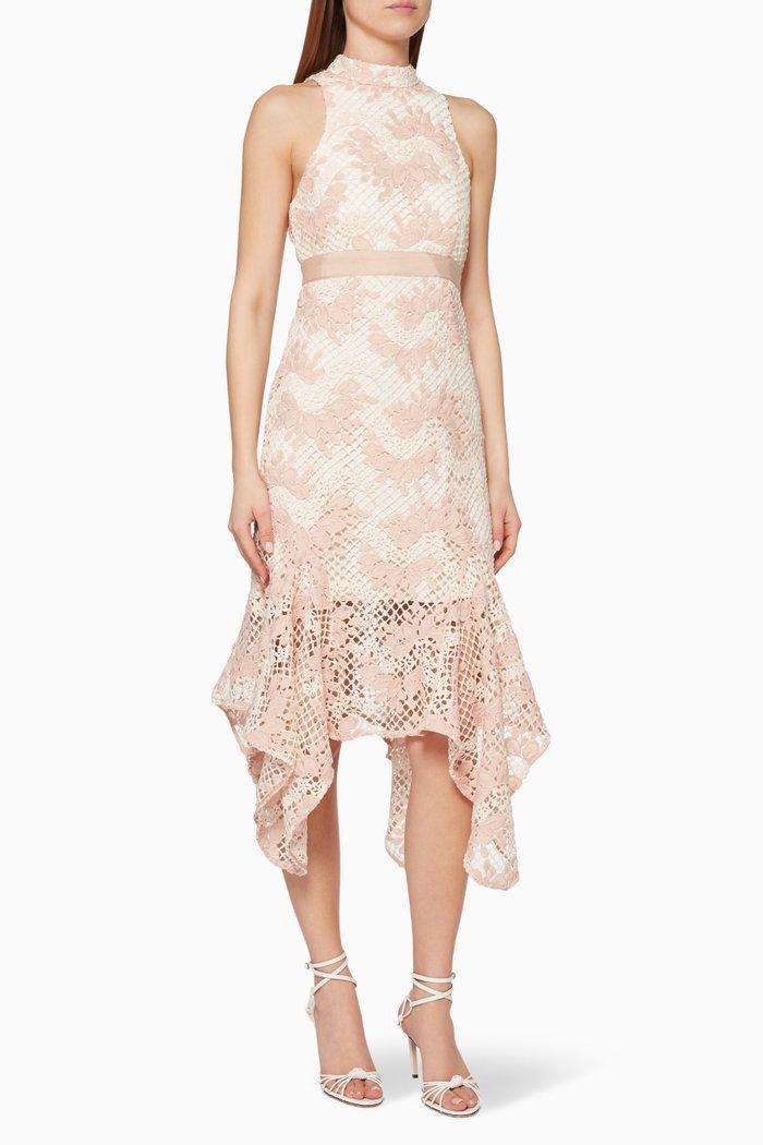 No Air Lace Midi Dress