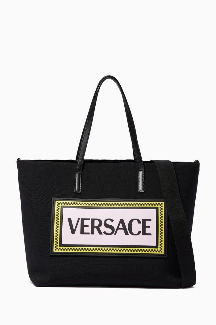 90s Vintage Logo Canvas Diaper Bag