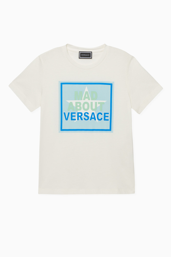 """""""Mad About Versace"""" Jersey T-Shirt"""