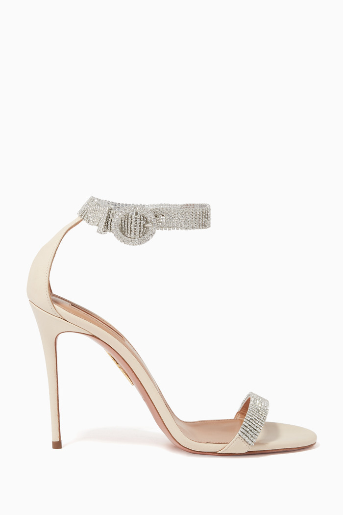 Chain Reaction Embellished Sandals