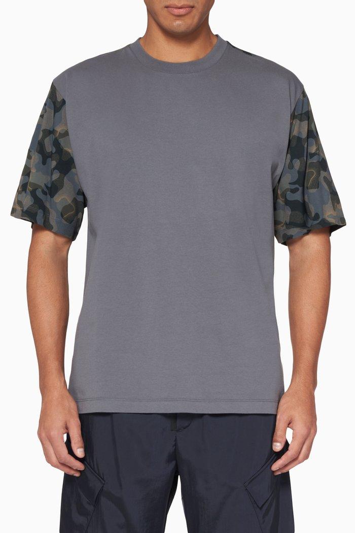Huwaylat Printed Oversized T-Shirt