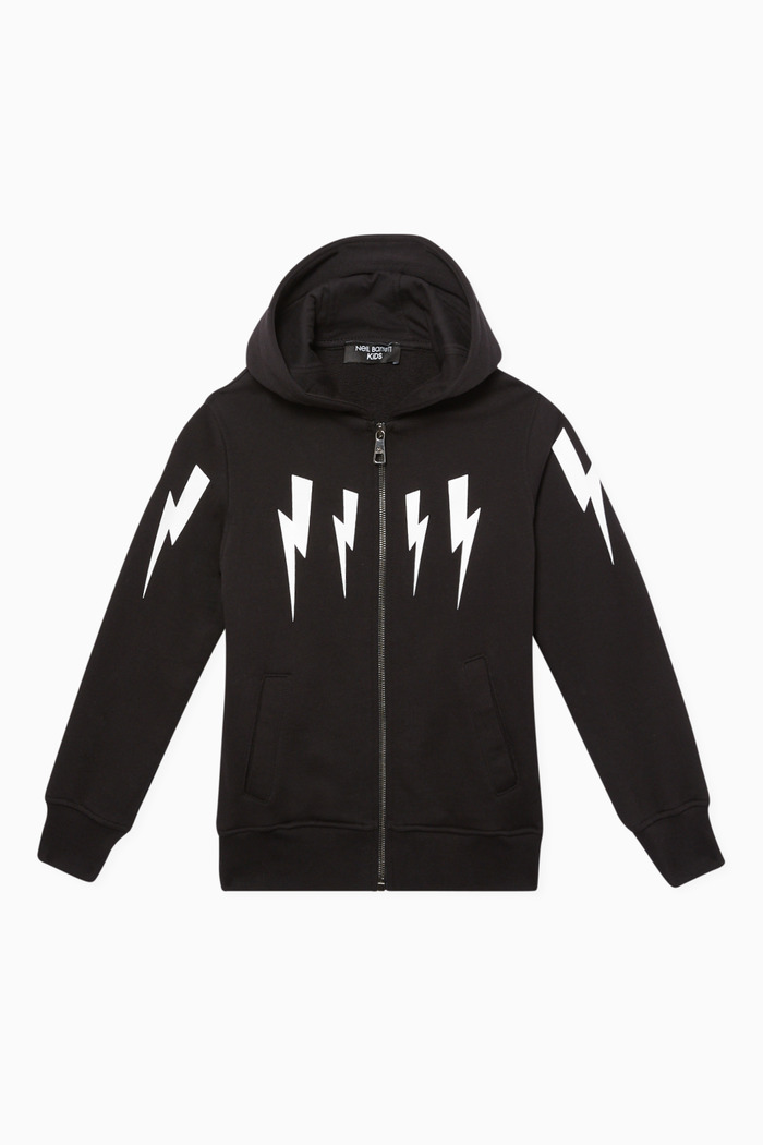 Thunderbolt Graphic Hoodie