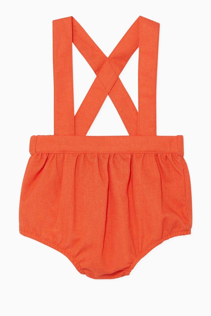 Suspender Strap Shorts