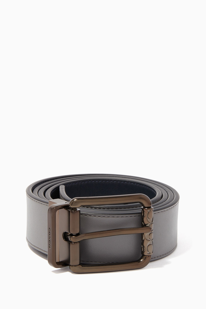 Roller Buckle Reversible Belt