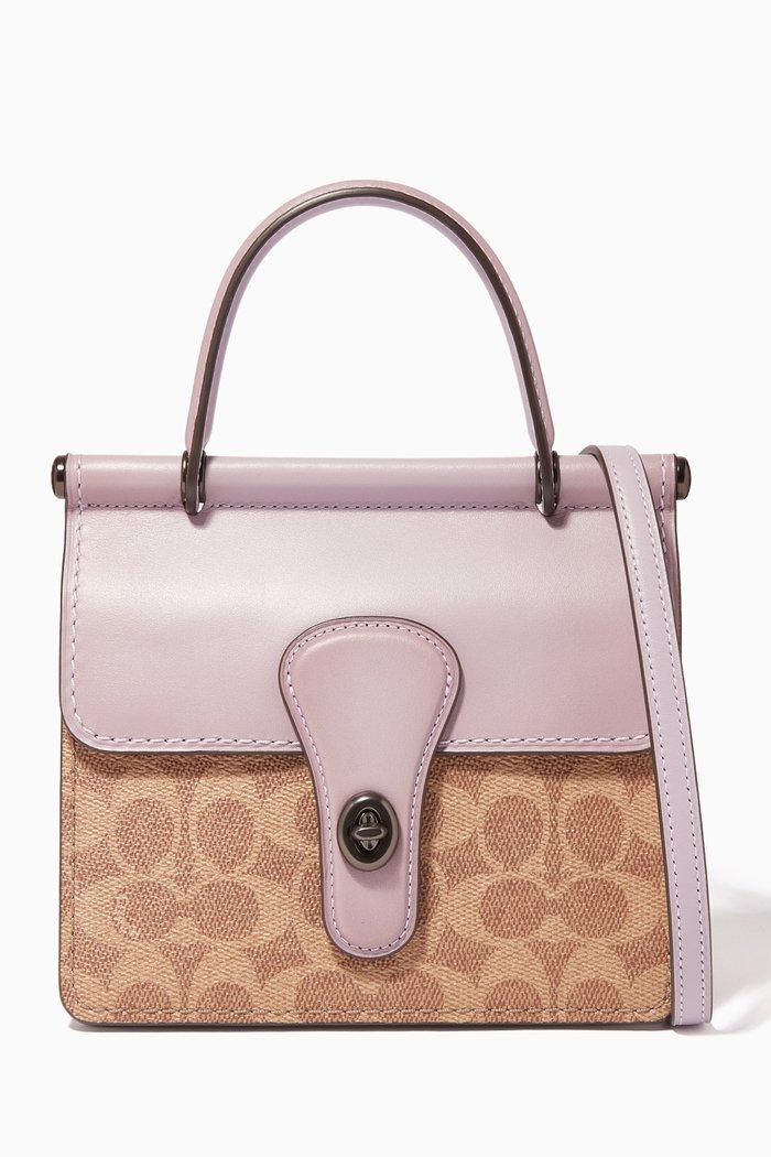 Willis 18 Signature Canvas Top Handle Bag