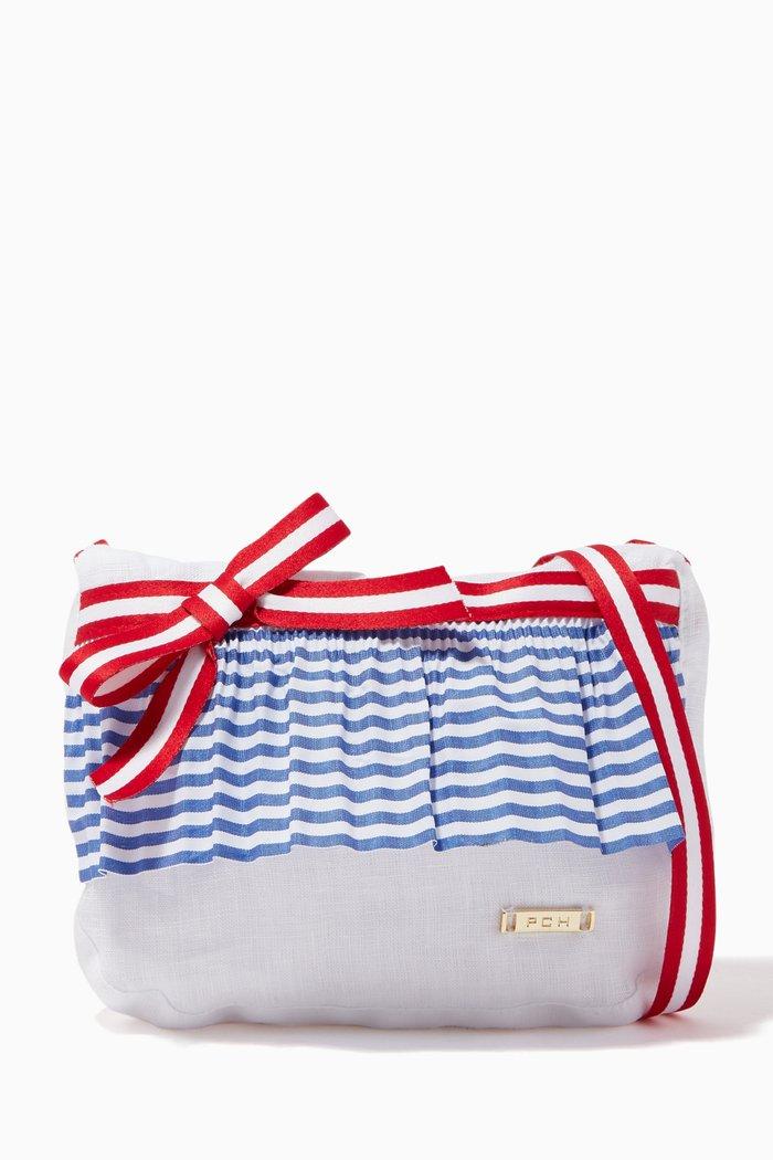 Nautical Striped Handbag