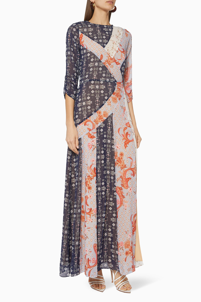 Evelyn Spiced Maxi Dress