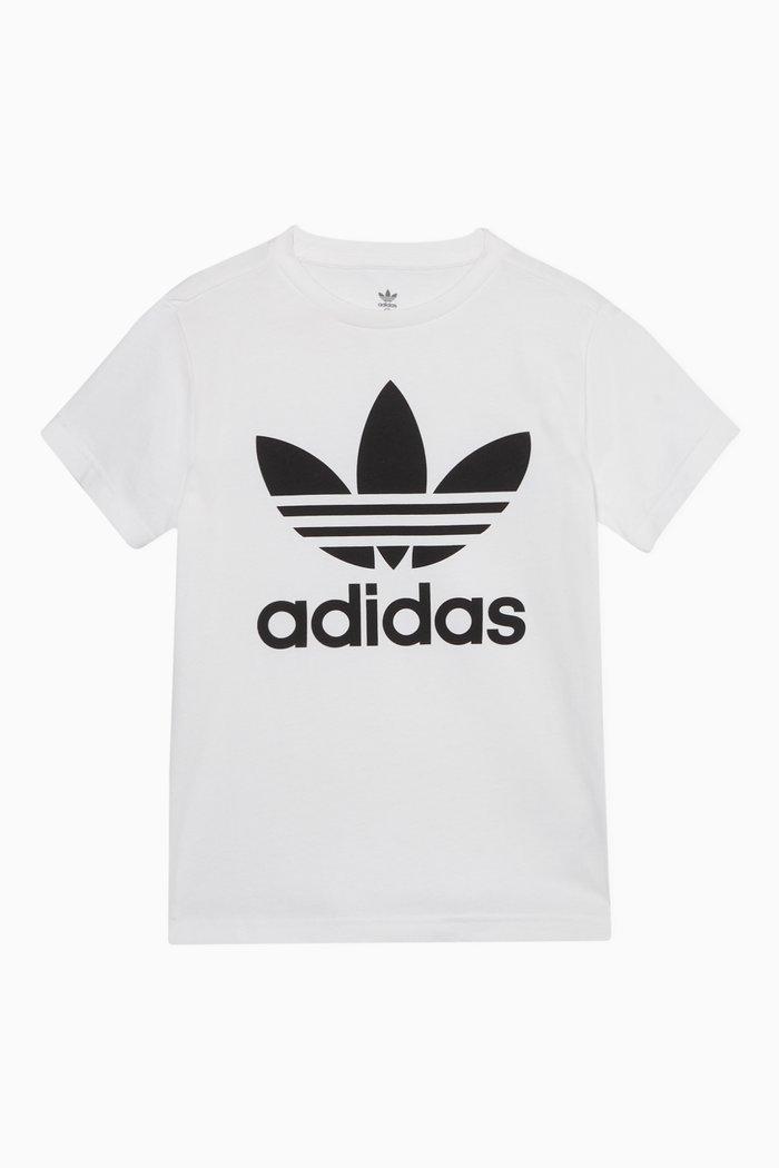 Trefoil Cotton Jersey T-Shirt