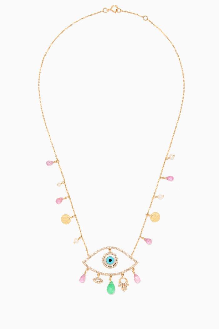 Dima's Eye Beaded Necklace