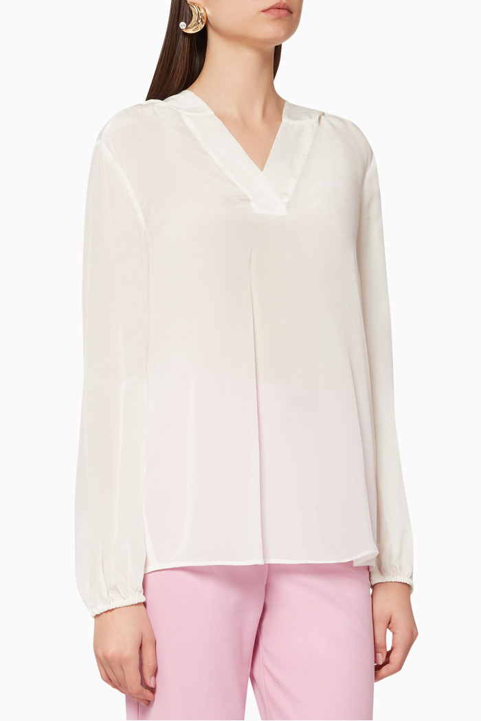 Denis Hooded Blouse