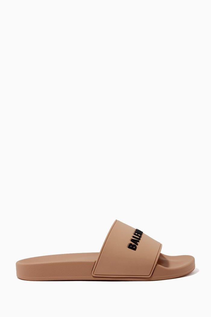 Piscine Slide Sandal in Rubber