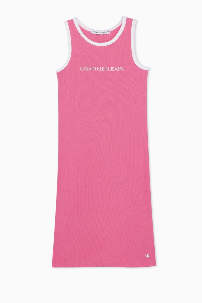 Institutional Ribbed Tank Dress