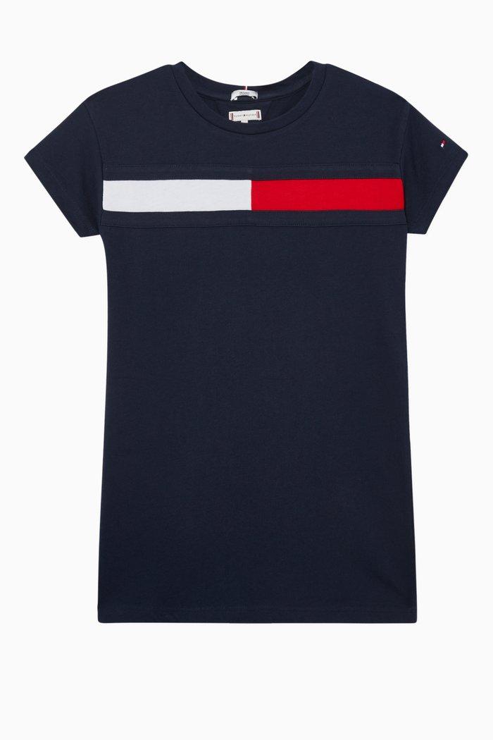 Flag Jersey T-Shirt Dress