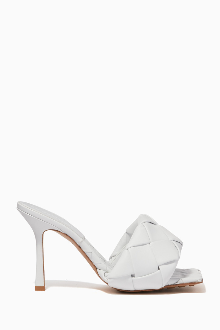 BV Lido Leather Mule Sandals