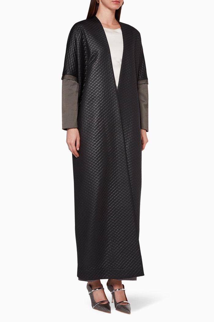 Kris-Kros Quilted Abaya