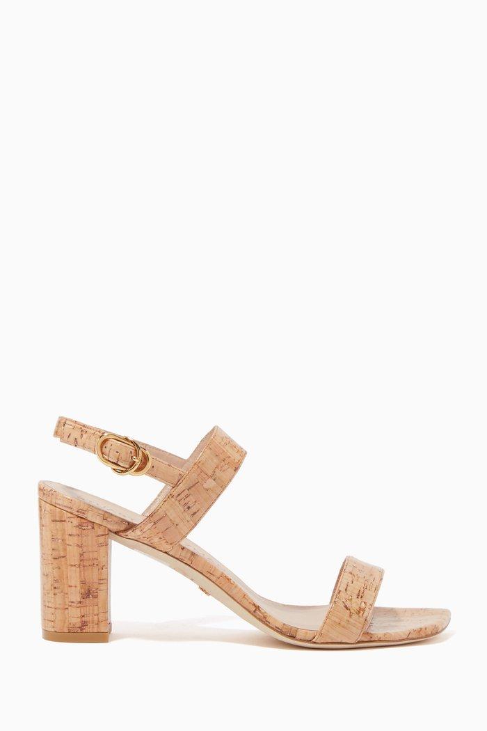Austine 75 Cork Leather Sandals
