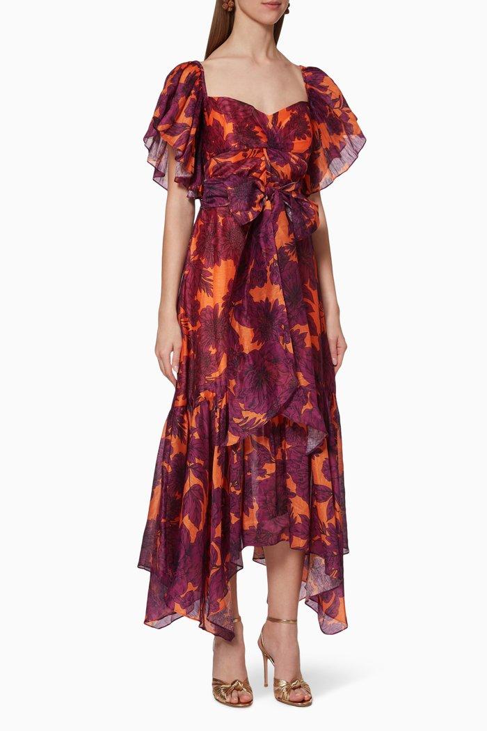 Las Palmas Midi Dress