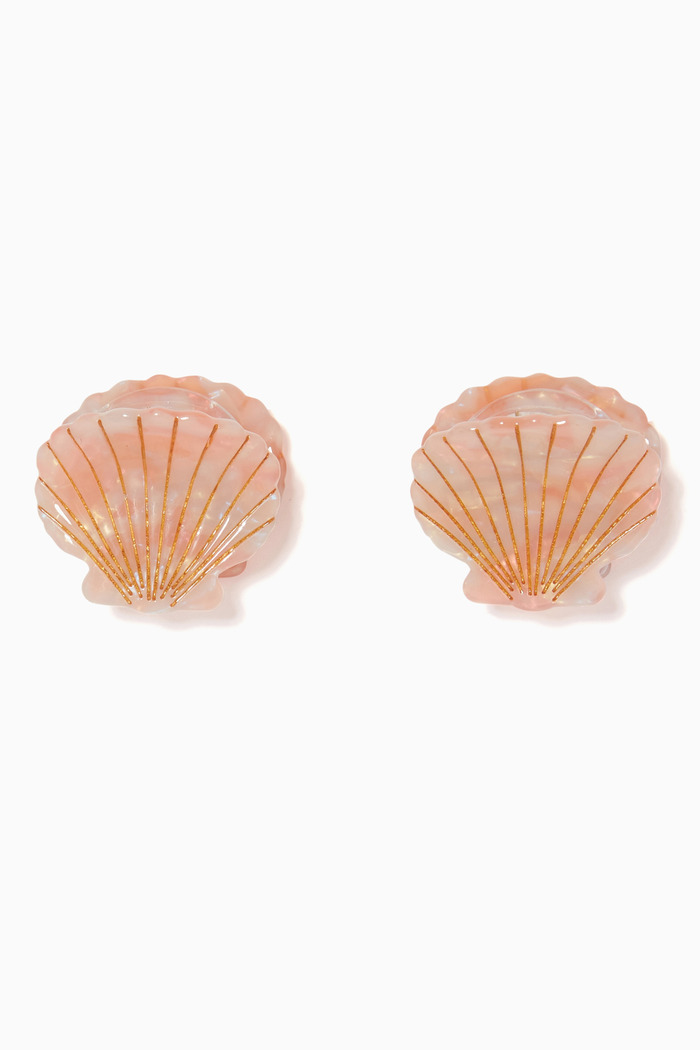 Ursula Seashell Clip Set