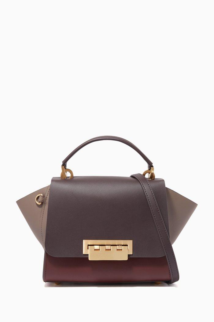 Eartha Leather Top Handle Bag