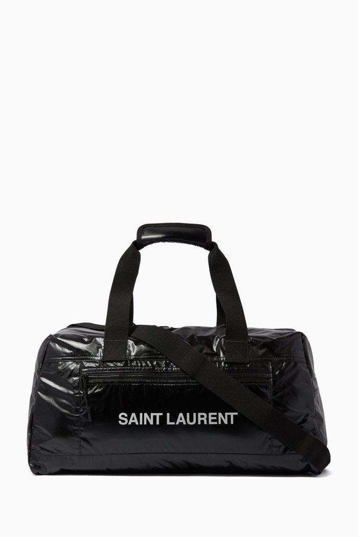 Nuxx SAINT LAURENT Print Duffle Bag in Nylon