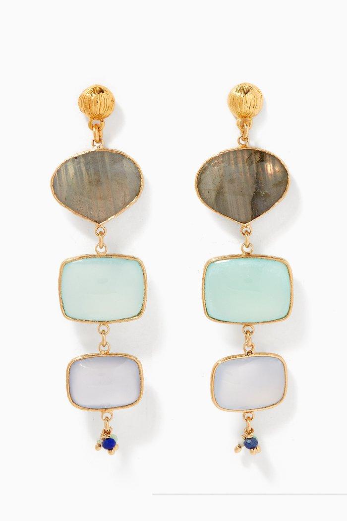 Silene Onyx Earrings