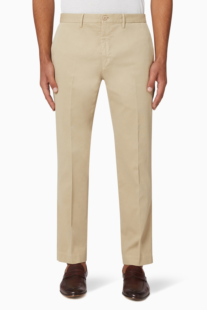 Incotex Twill Cotton Pants