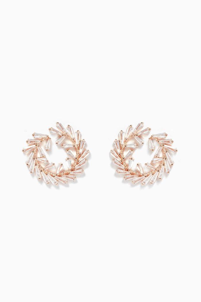 Round Wreath Earrings