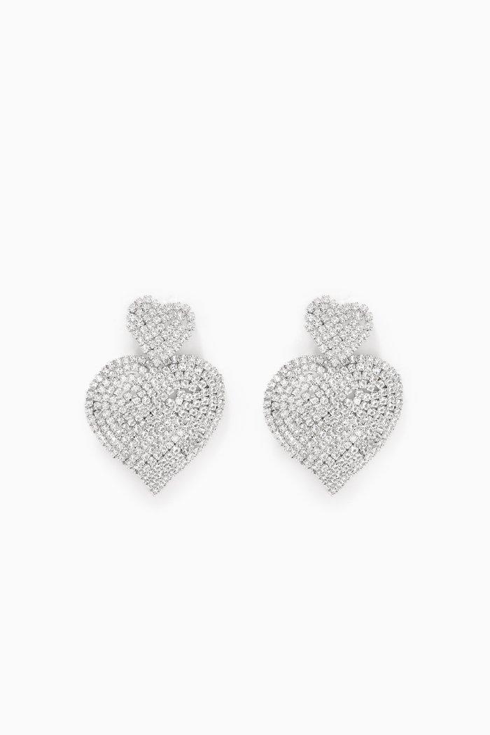 Flexi Double Heart Earrings