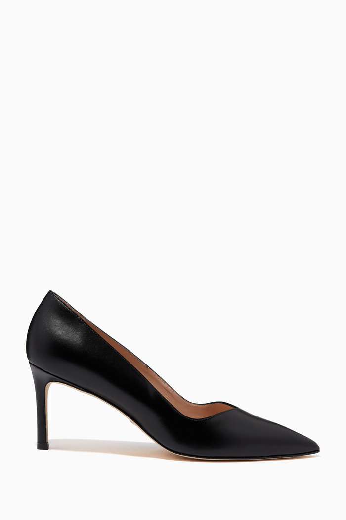 The Anny 70 Pumps in Leather