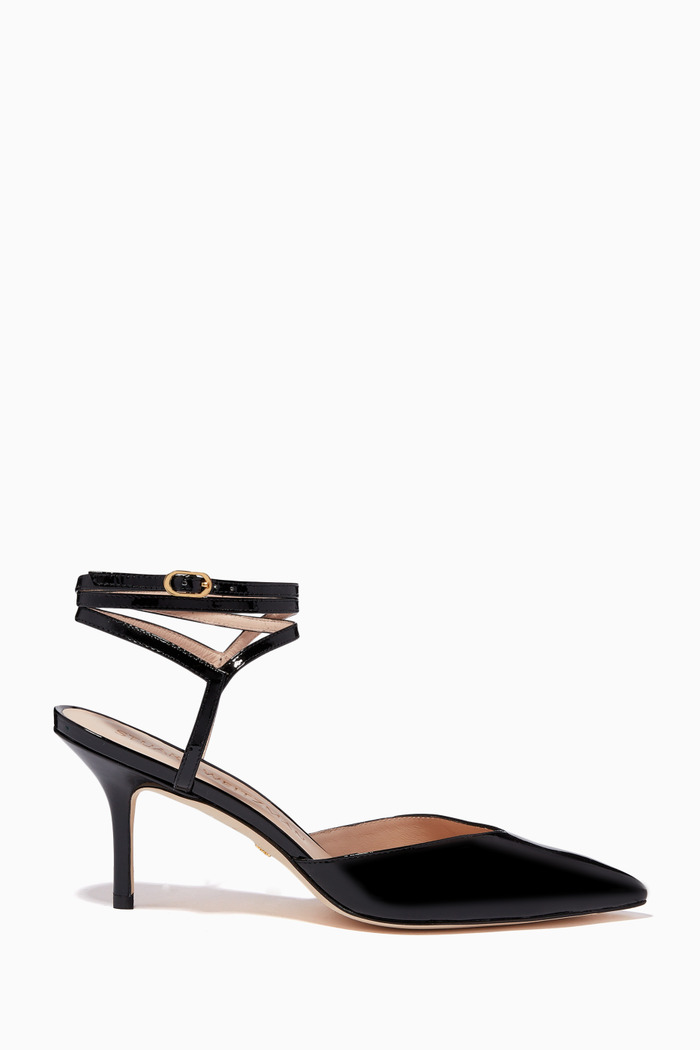 The Revel 75 Pumps in Patent Leather
