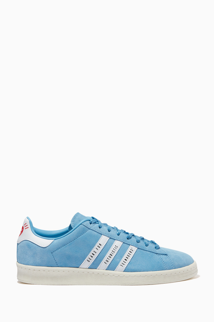x Human Made Superstar 80s Campus Sneakers in Suede