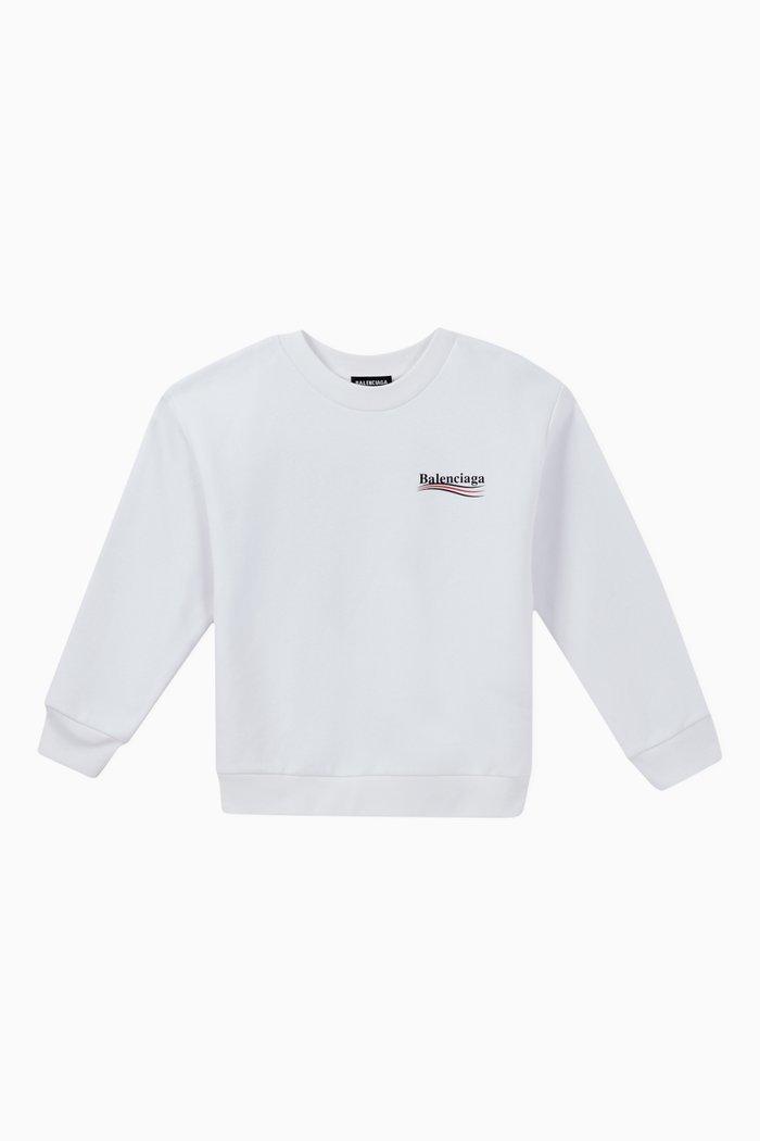Political Campaign Cotton Sweatshirt