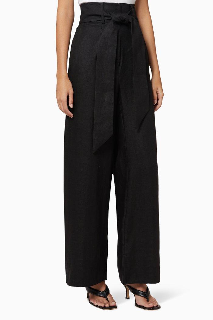 Fancy Linen Pants