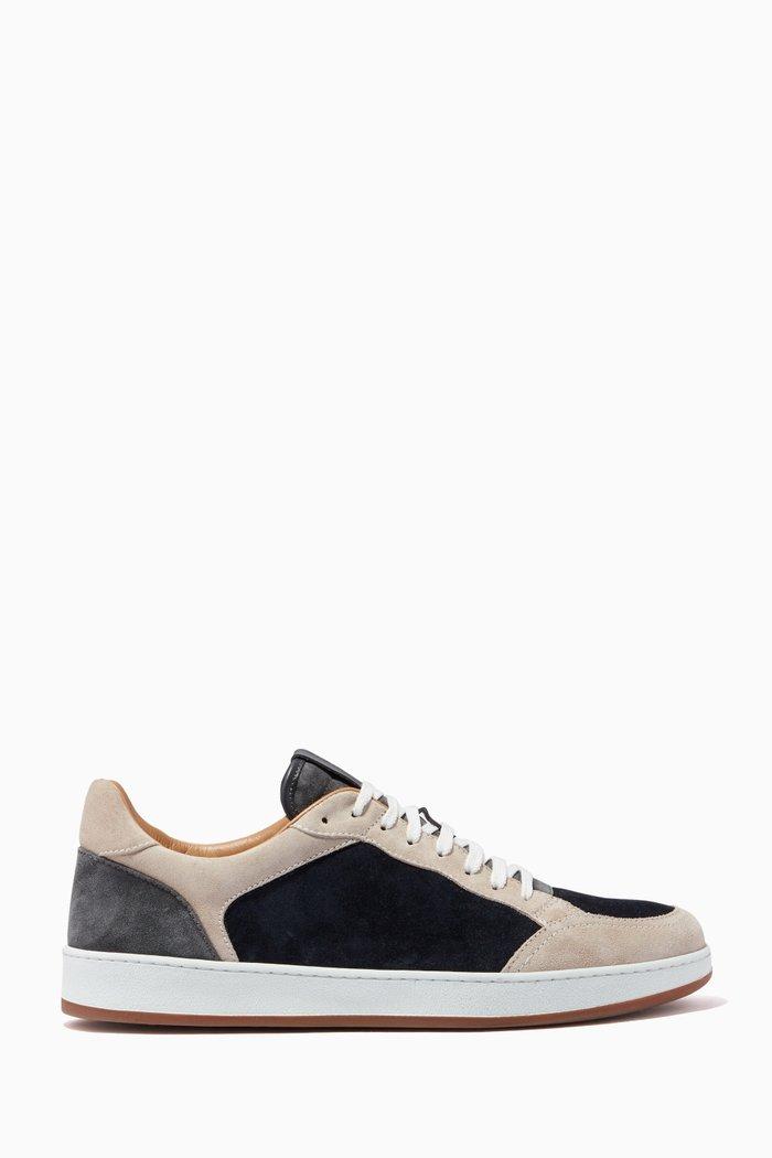 Tennis Sneakers in Suede