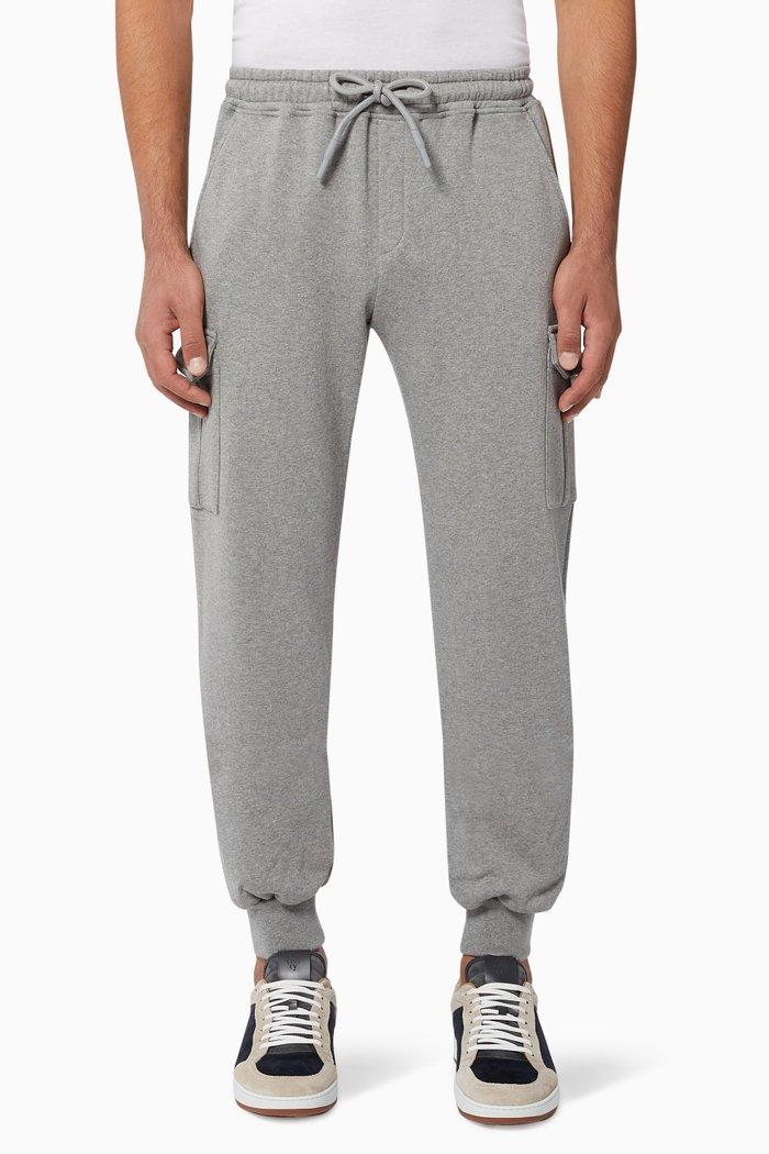 Cotton Cargo Sweatpants