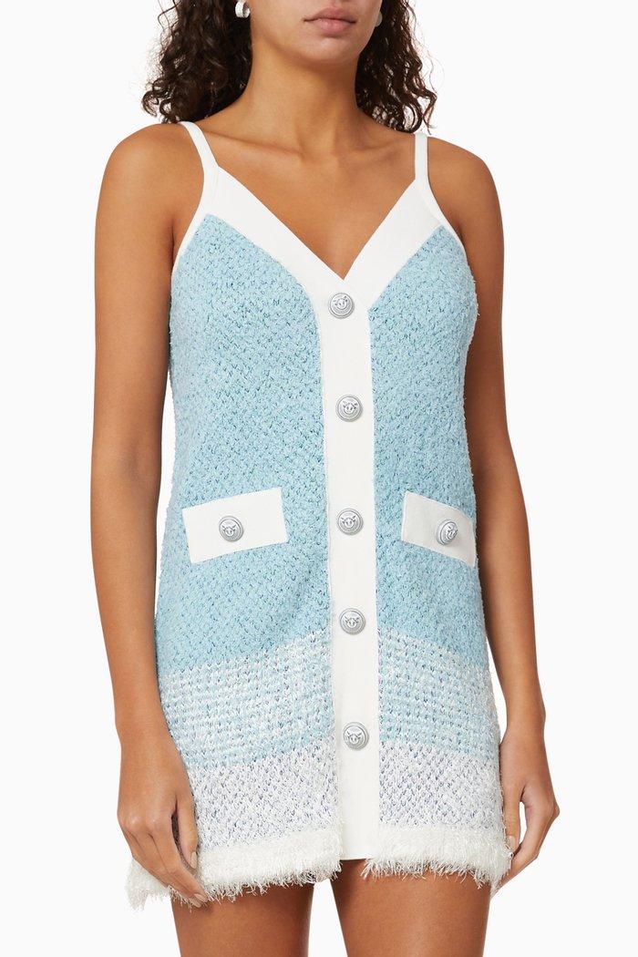 Button Cotton Dress