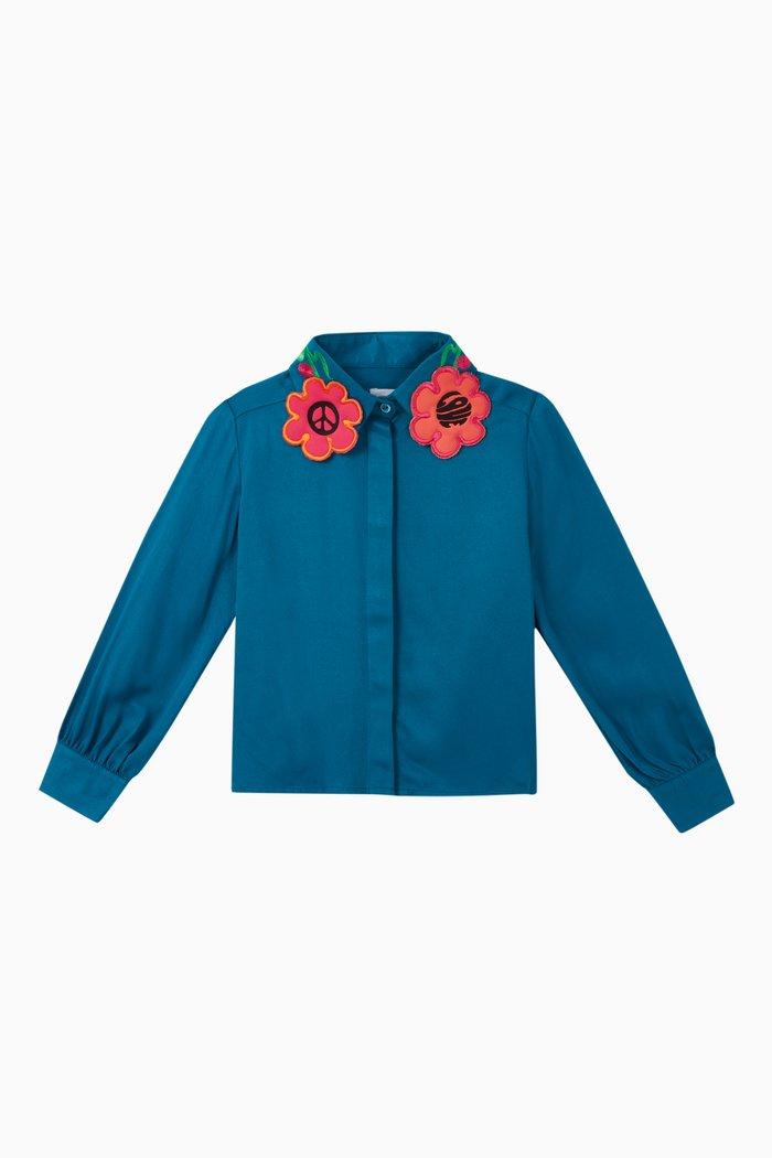 Daya Flower Embellished Top