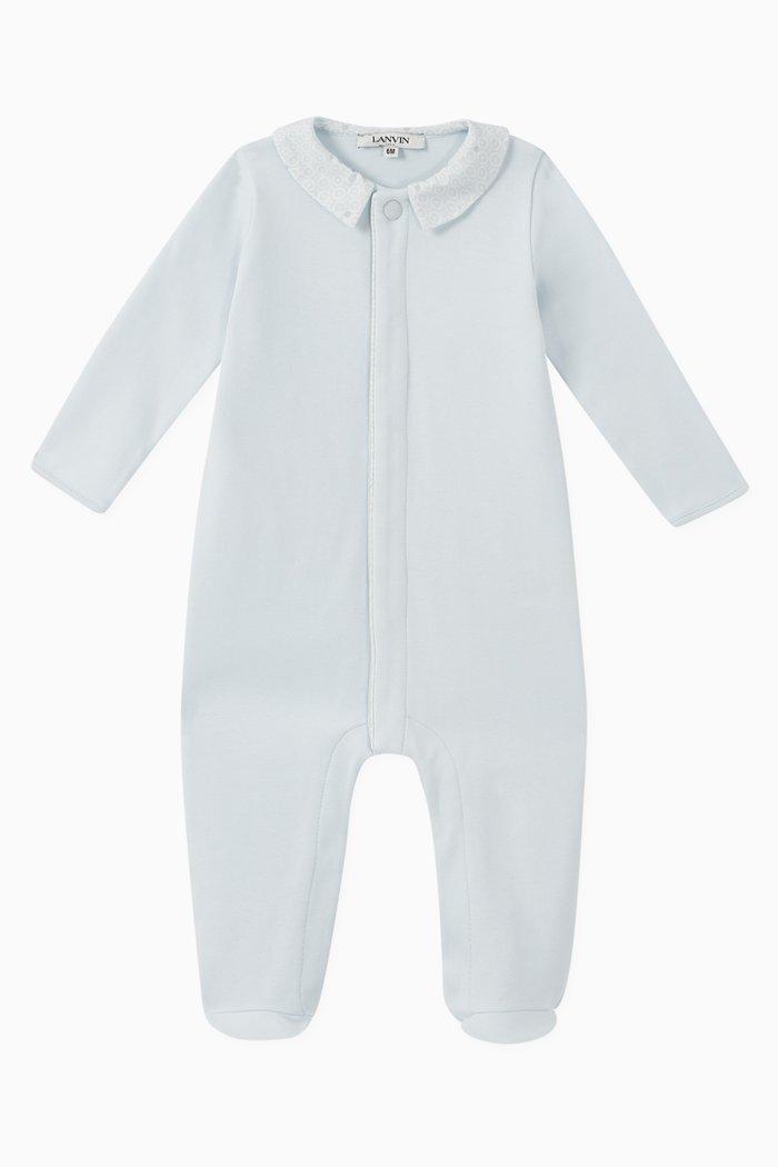 Printed Cotton Sleepsuit