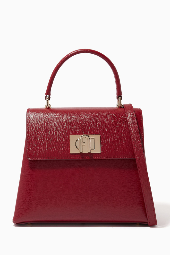Furla 1927 Top Handle Bag in Leather