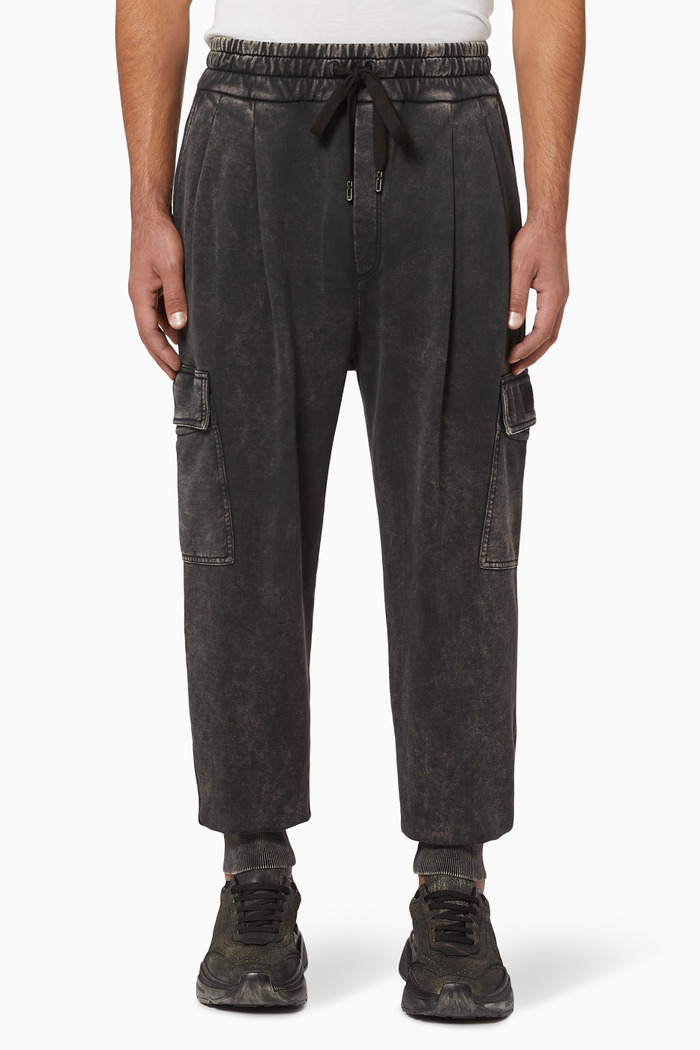 Vintage Cargo Cuff Sweatpants