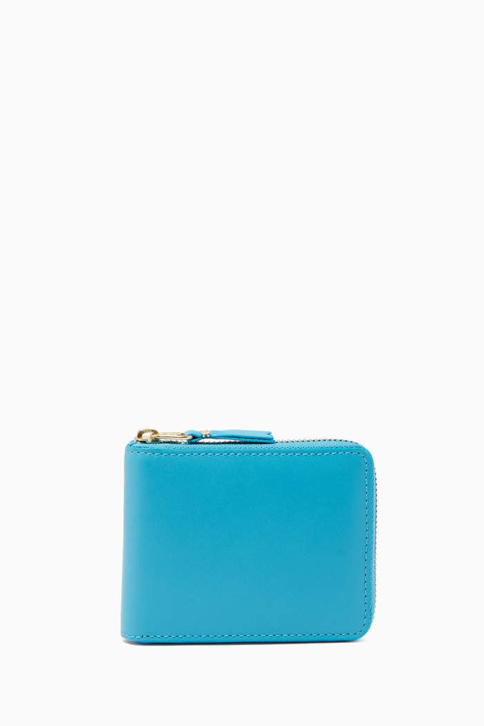 Classic Zip-Around Wallet in Leather